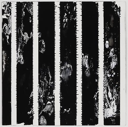 """Untitled (1-2011, 2 1/4""""-3/4""""), 2011 Enamel on aluminum 17 x 17 inches GLG1781"""