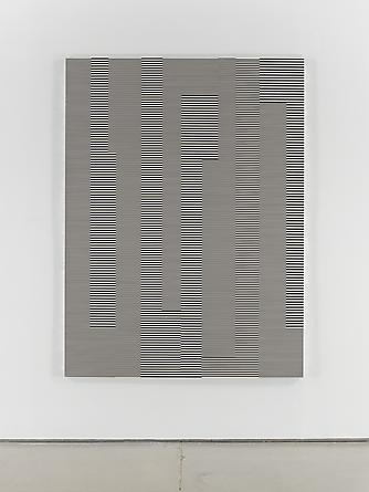 Untitled (1/3 Kilometer - #41), 1993 Enamel on aluminum 78 3/4 x 59 inches  GLG2048