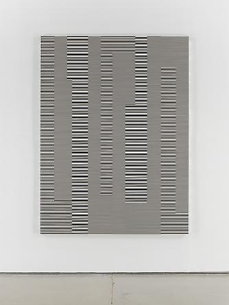 Untitled (1/3 Kilometer - #42), 1993 Enamel on aluminum 78 3/4 x 59 inches GLG2049