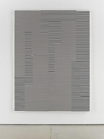 Untitled (1/4 Mile-#37), 1993 Enamel on aluminum 88 x 66 inches GLG2050