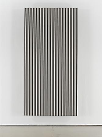 Untitled (#3), 1989 Enamel on aluminum 96 x 48 inches GLG2051