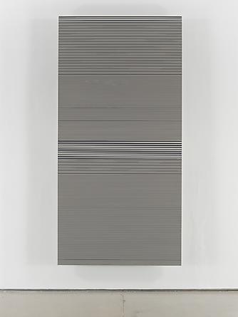 Untitled (#15), 1990 Enamel on aluminum 96 x48 inches GLG2052