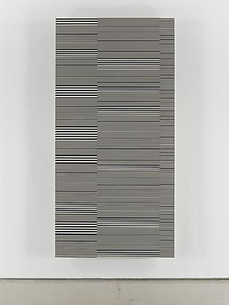 Untitled (#27), 1992 Enamel on aluminum 96 x 48 inches GLG2053