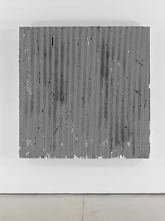Untitled (#95), 2011 Enamel on aluminum 60 x 60 inches GLG2054