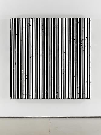 Untitled (#96), 2011 Enamel on aluminum 63 x 63 inches GLG2055