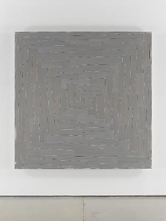 Untitled (#73), 2003 Enamel on aluminum 66 x 66 inches GLG2056
