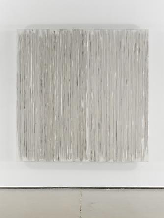 Untitled (#72), 2002 Enamel on aluminum 66 x 66 inches GLG2058