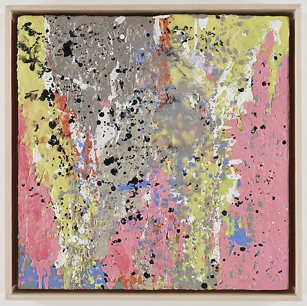 Untitled (5-08), 2008 Encaustic on wood, framed 19 1/2 x 19 1/2 inches, framed GLG785