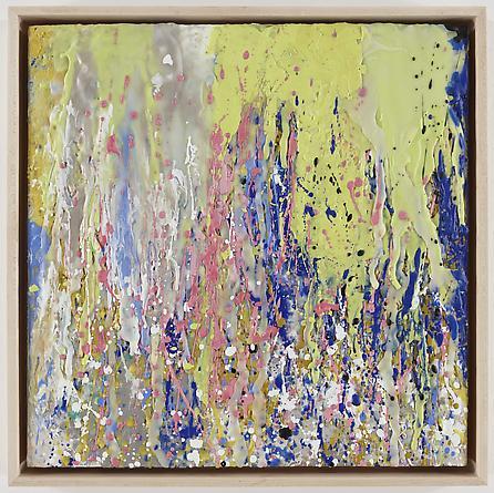 Untitled (6-08), 2008 Encaustic on wood, framed 19 1/2 x 19 1/2 inches, framed GLG787