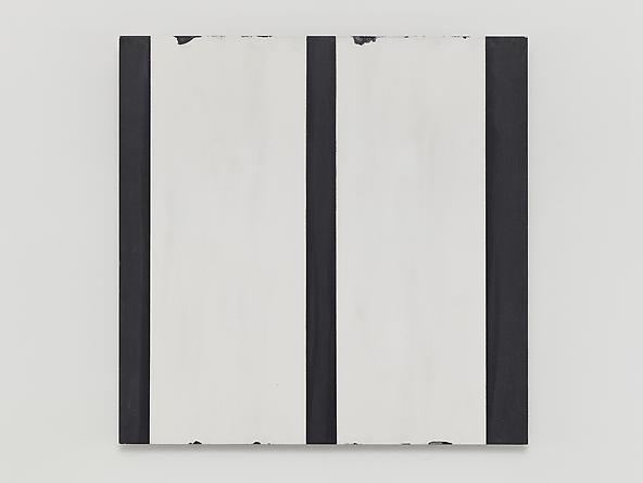 Untitled (#0713-03), 2013 Enamel on aluminum 15 x 15 inches GLG2576