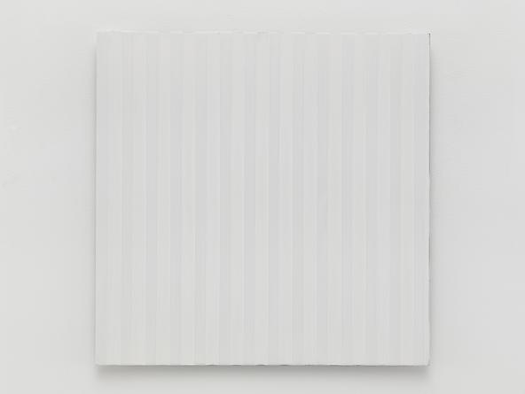 Untitled (#0813-05), 2013 Enamel on aluminum 17 x 17 inches GLG2581