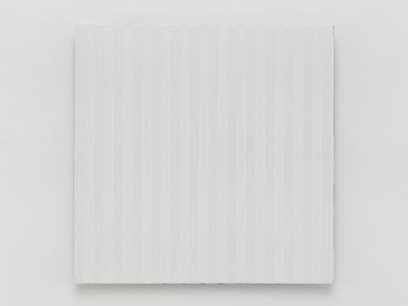 Untitled (#0813-05), 2013 Enamel on aluminum 17 x 17 inches GLG2581