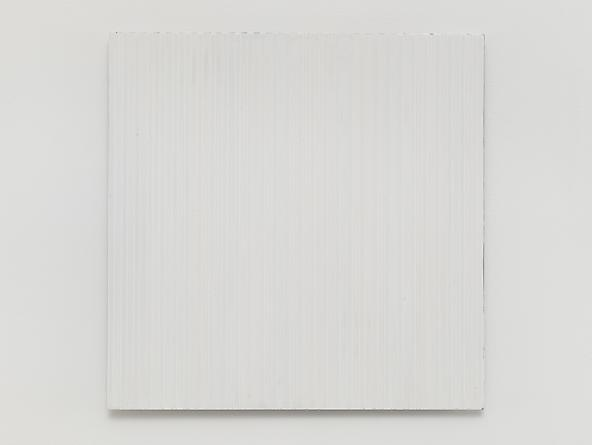 Untitled (#0813-08), 2013 Enamel on aluminum 15 x 15 inches GLG2583