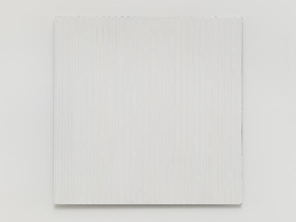 Untitled (#0813-08), 2013 Enamel on aluminum 15 x 15 inches GLG2583