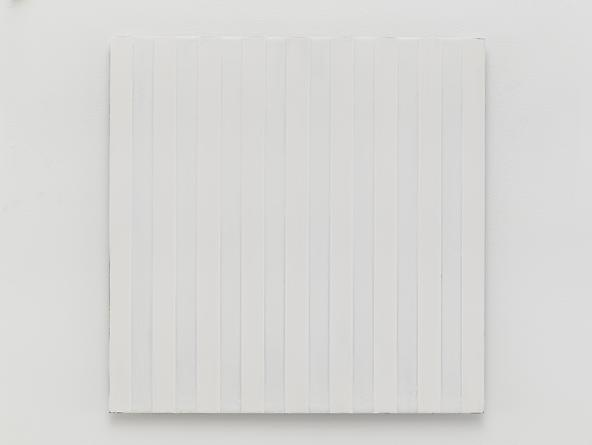 Untitled (#0813-09), 2013 Enamel on aluminum 17 x 17 inches GLG2584