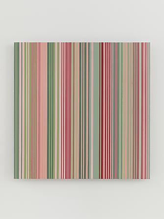 Untitled (#1213.07), 2013 Enamel on aluminum 17 x 17 inches SGI2725