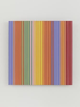 Untitled (#1213.13), 2013 Enamel on aluminum 15 x 15 inches SGI2727
