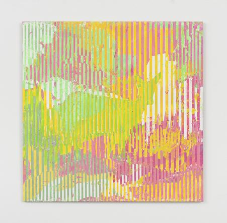 Untitled, 2012 Enamel on aluminum 17 x 17 inches SGI2977