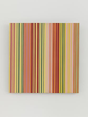 MICHAEL SCOTT Untitled (#1213.03), 2013 Enamel on aluminum 15 x 15 inches SGI2708