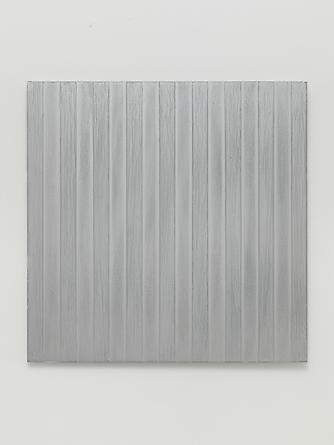 MICHAEL SCOTT Untitled (#1013.01), 2013 Enamel on aluminum 17 x 17 inches SGI2709