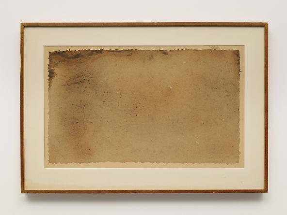 MARK TOBEY Monotype, 1961 Ink on paper 12 ½ x 20 ½ inches