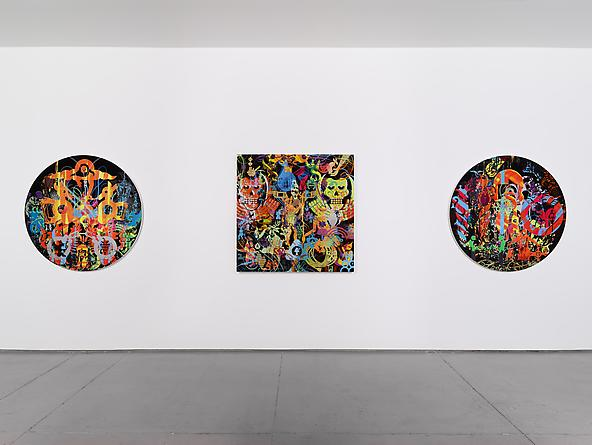 Installation view: Masters of Reality, November 3 - December 23, 2011