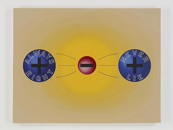Chemical Bond, 1989 Acrylic on canvas 70 x 90 inches GLG2412
