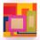 PETER HALLEY Popism, 1998 Acrylic, fluorescent acrylic, metallic acrylic and Roll-a-Tex on canvas 75 x 74 inches SGI3171