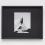 Beam of Light BG 9, 2015 Acrylic & gouache on foil, mounted on board, framed 16 3/4 x 20 3/4 inches SGI3166