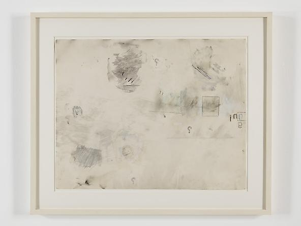 radio amnesia pt 2: a survey of works on paper 1997-2013 Robert Rauschenberg Snow Call, 1962 Solvent transfer on Strathmore paper, with gouache, wash, watercolor & pencil 23 x 29 inches GLG2445