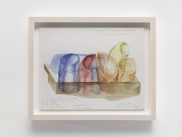 STEVEN HOLL Chapel of St. Ignatius, 1999 Watercolor & pencil on paper 9 x 12 inches