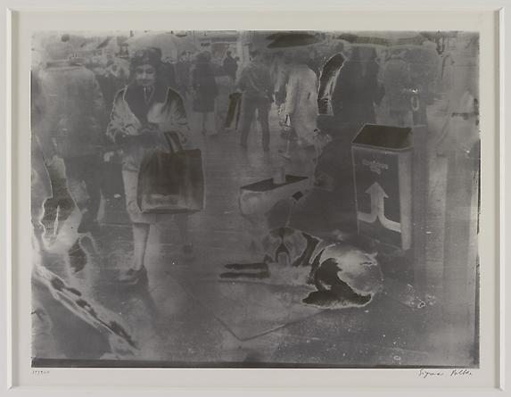 radio amnesia pt 2: a survey of works on paper 1997-2013 Sigmar Polke Kolner Bettler IV, 1972 Offset lithograph 17 x 23 3/4 inches GLG1983
