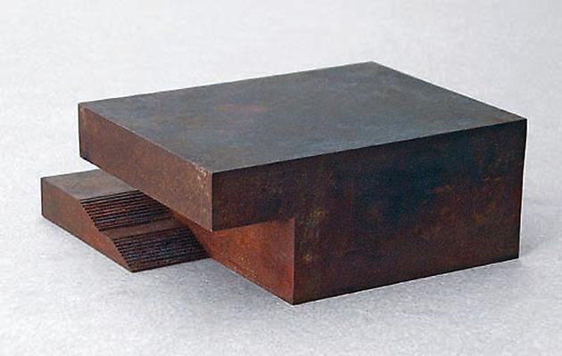 Beutekunstmuseum (Museum of Looted Art), 2003-04 Corroded steel 20.25 x 20.25 x 8.25 centimeters GLG866