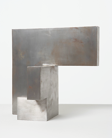Untitled (model), n.d. Steel 9 7/8 x 10 x 6 1/8 inches Unique GLG605