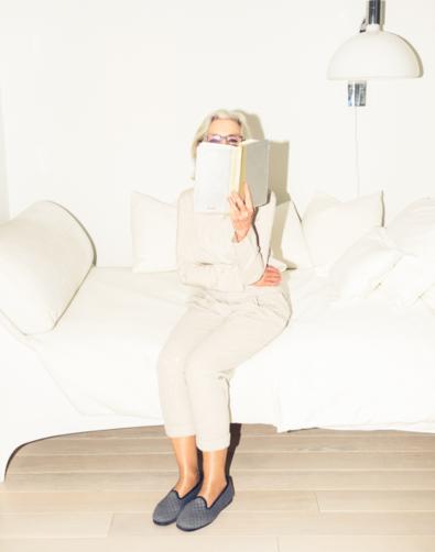 Sandra Gering on The Coveteur site