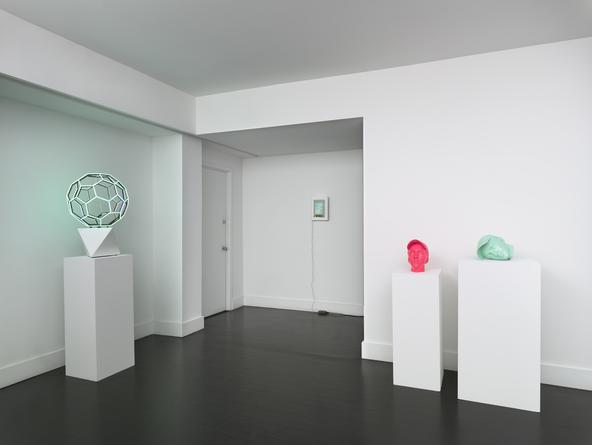 Installation view: Tech-né-Color