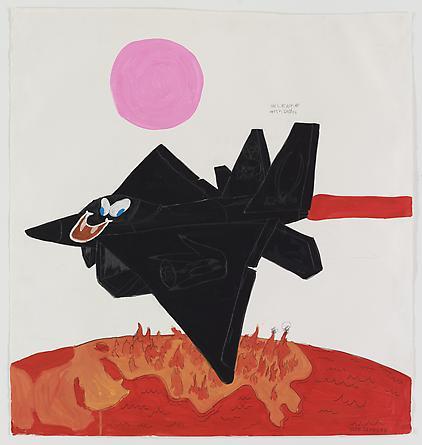 ILWS, 2008 Gouache & graphite on paper 47 1/2 x 44 1/2 inches SGI1275