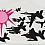 FB -n- S, 2008 Gouache & graphite on paper 27 1/4 x 45 inches  SGI1436