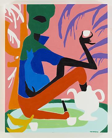 If I Were A Rich Man, 2012 Acrylic on canvas 60 x 48 inches SGI2301
