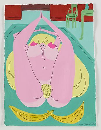 Bananarama, 2013 Gouache & graphite on paper 15 x 11 inches SGI2656