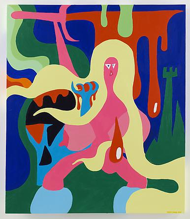Escape From Witch Mountain, 2014 Acrylic on canvas 42 x 36 inches SGI2671