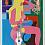 Read My Mind, 2014 Acrylic on canvas 28 x 22 inches SGI2672