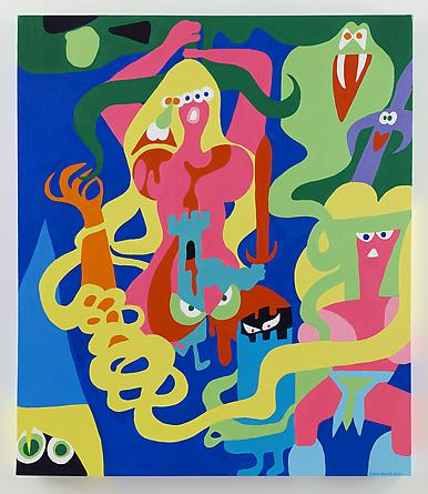 Witch Mountain, 2014 Acrylic on canvas 42 x 36 inches SGI2678