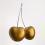 Cherries (Gold), 2016 Urethane on cast aluminum, chrome plated bronze 31 x 24 x 13 inches #2/3 SGI3209