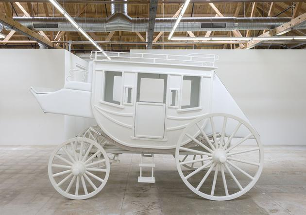 Stagecoach, 2012-14 Mixed media 101 x 180 x 80 inches