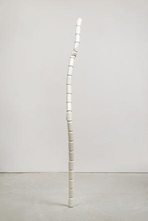 White Wizard, 2015 Urethane on aluminum 100 x 7 x 11 inches