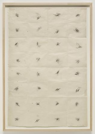 Untitled (Pocket Drawing), 2009 Graphite on paper 30 x 20 1/2 inches SGI2633