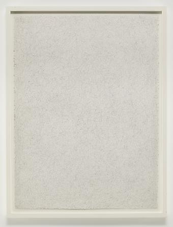Untitled (Still Drawing), 2012 Graphite on paper 30 x 22 inches SGI2634