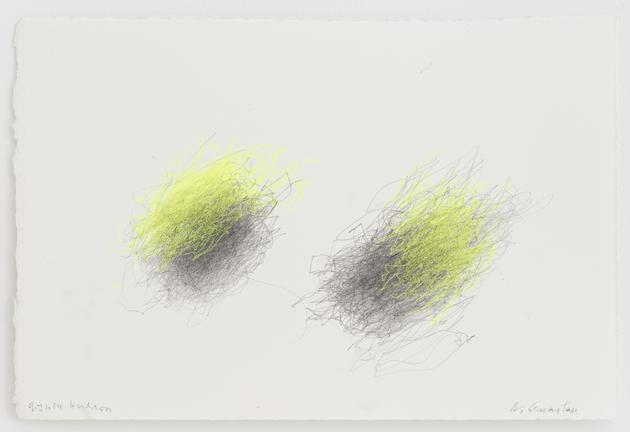 Untitled (4.21.14 Hudson), 2014 Ink & pencil on paper 7 1/2 x 11 inches SGI3393