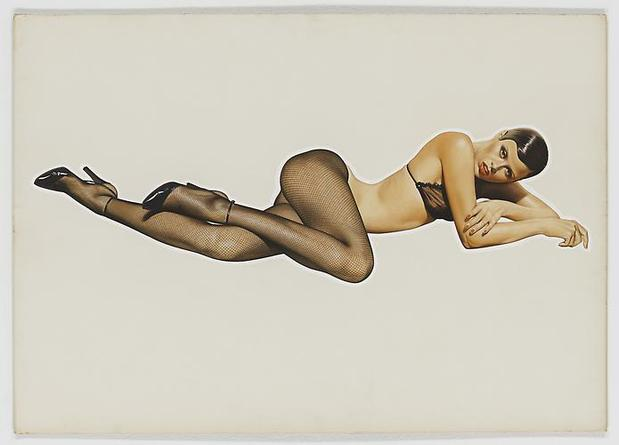 HAJIME SORAYAMA Untitled 1977 Acrylic on board 20 3/16 x 28 5/8 inches